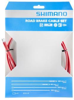 SHIMANO DURA ACE (BR-7900)  Bremszugset, rot