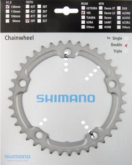 SHIMANO 105 (FC-5700)  Kettenblatt, silber, 39 Z.