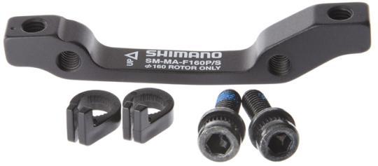 SHIMANO Adapter von PM-Bremssattel auf IS-Aufnahme, VR,