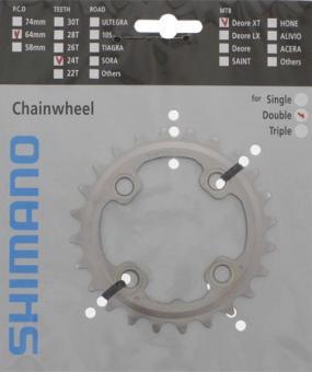 SHIMANO DEORE XT (FC-M785)  Kettenblatt, 24 Zähne