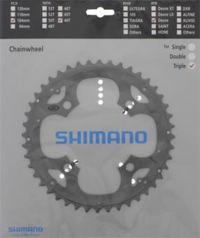SHIMANO DEORE (FC-M590)  Kettenblatt, 44 Z.