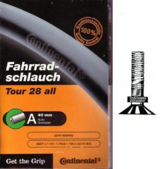 CONTINENTAL TOUR ALL  ATB-Schlauch, 32/47 - 622, Auto-