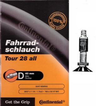 CONTINENTAL TOUR ALL  ATB-Schlauch, 32/47 - 622, Dunlop