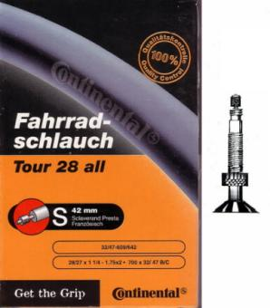 CONTINENTAL TOUR ALL  ATB-Schlauch, 32/47 - 622, Sklave