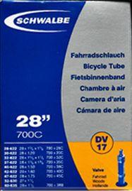 SCHWALBE DV17  Schlauch, 28/47-622, Dunlop-Ventil