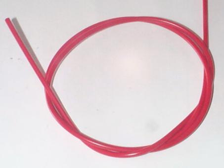 YPK Bremsaußenzug mit Teflonhülle, rot