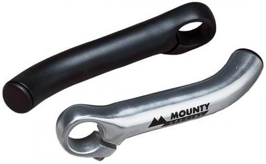 MOUNTY LITE ENDS II  Bar Ends, kurz, schwarz