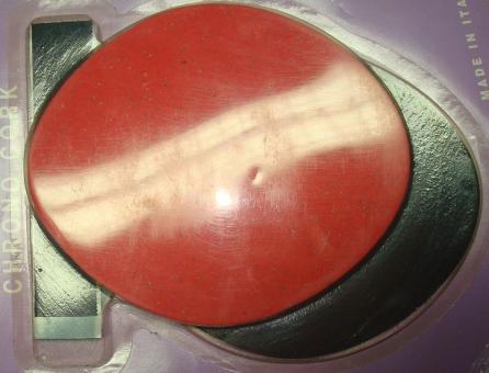 CINELLI CHRONO CORK  Armauflagepads, rot