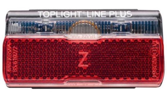 B&M TOPLIGHT LINE BRAKE PLUS  Rücklicht mit Stoplichtfu