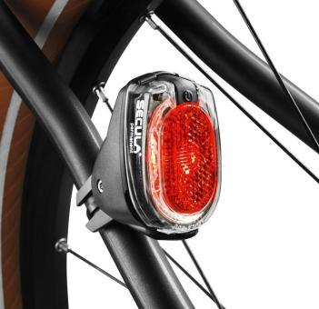 B&M SECULA PERMANENT  LED-Rücklicht, Strebenmontage