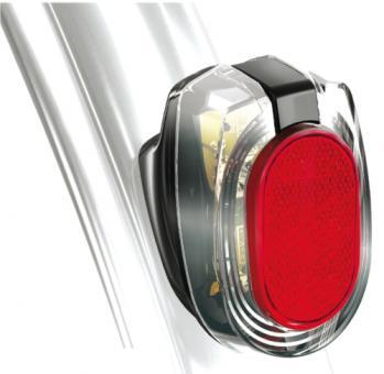 B&M SECULA PLUS  LED-Dynamo-Rücklicht, Schutzblechmontage