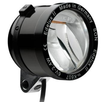 SCHMIDT EDELUX II  LED-Scheinwerfer, schwarz, 140 cm Ka