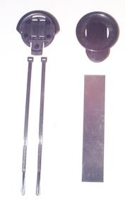 POLAR Accessoir-Set  Lenkerhalter. u. Clip