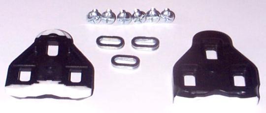 LOOK Pedalplatten, schwarz, mit Teflon
