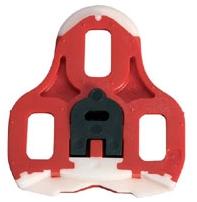 LOOK KéO  Pedalplatten, rot, mit Bewegungsfreiheit
