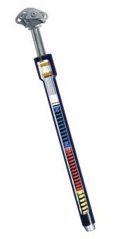 AIRWINGS EXPLETO travel  Sattelstütze, hart, 27,2 mm