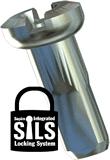 SAPIM SILS-Speichennippel, silber