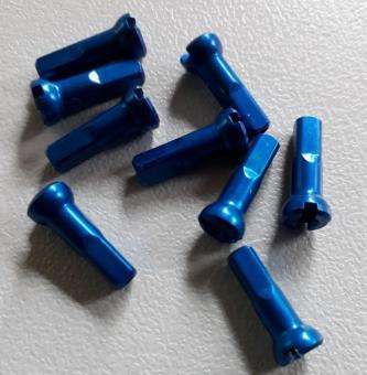 SAPIM POLYAX  Speichennippel aus Aluminium, blau
