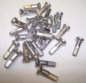 SAPIM Speichennippel aus Aluminium, silber