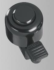 HUMPERT MINI-BELL  Radglocke, Stahl, schwarz