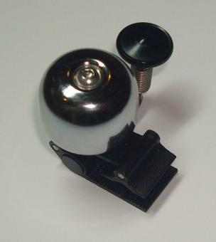 ECO Mini-Radglocke, silber