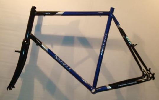 SOERGEL TR6061  ATB-Rahmen, schwarz-silber-blau,