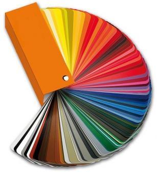 SOERGEL Sonderlackierung für farbige Rahmen,