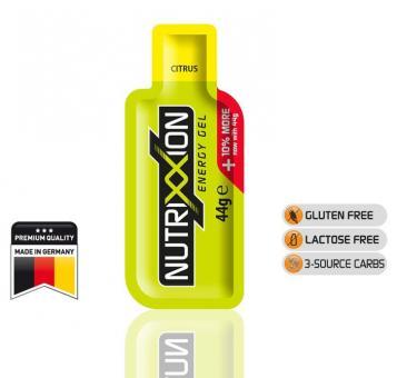 NUTRIXXION EnergieGel, Citrus, 44 g,
