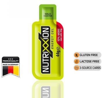 NUTRIXXION EnergieGel, Waldmeister, 44 g,