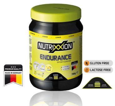NUTRIXXION Endurance Drink, Lemon, 700 g
