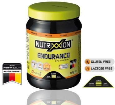 NUTRIXXION Endurance Drink, Orange, 700 g