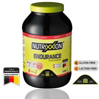 NUTRIXXION Endurance Drink, Red Fruit, 2200 g