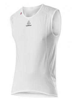 LÖFFLER WINDSTOPPER Singlet Transtex Light  Unterhemd, Weiß,