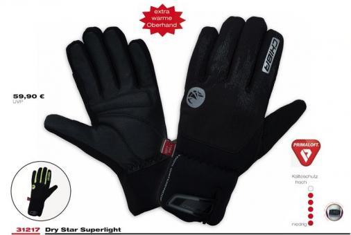CHIBA DRYSTAR Superlight  Winterhandschuh, schwarz,