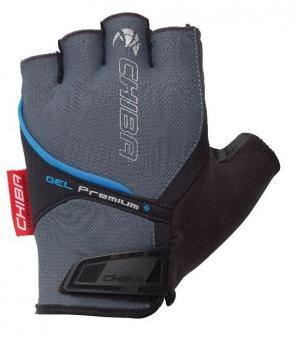 CHIBA GEL PREMIUM 2017  Handschuhe, grau,