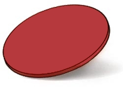 RUDY PROJECT EKYNOX  Ersatzgläser, racing red
