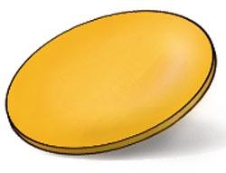 RUDY PROJECT ZYON  Ersatzgläser, gelb