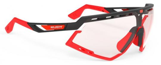 RUDY PROJECT DEFENDER  Sonnenbrille, black matte - Photochromic 2 red