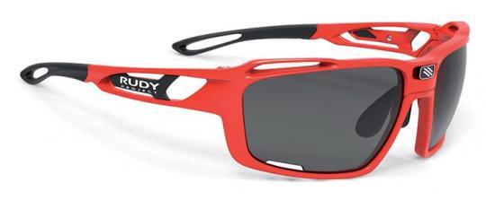 RUDY PROJECT SINTRYX  Sonnenbrille, fire red gloss - smoke black