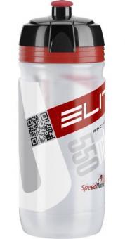 ELITE CORSA NEW DESIGN  Trinkflasche, transparent, 0,55 L