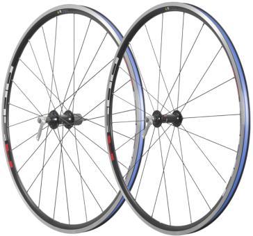 SHIMANO WH-R501  Laufradsatz, schwarz-rot