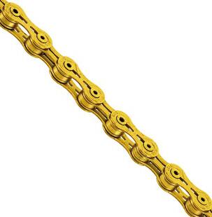 KMC X 9 SL  Kette, 9fach, gold