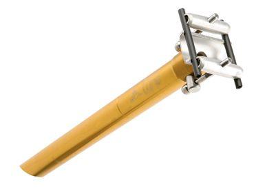 TUNE STARKES STÜCK  Sattelstütze, gold, 420 mm *