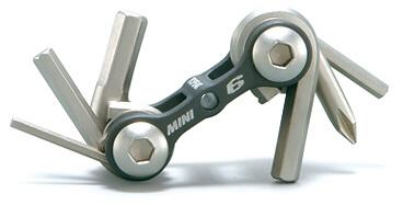 TOPEAK MINI 6  Miniwerkzeug mit 6 Funktionen