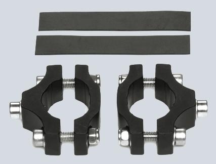 TUBUS LM-1  Montageset für Gabeln ohne Ösen, 20 - 32 mm