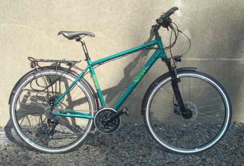 SOERGEL TR6061  Trekkingrad mit STVZO-Ausstattung, grün,