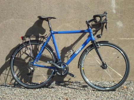 SOERGEL CC-A01  Crossrad, mit StVzO-Ausstattung, blau,
