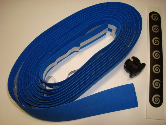 BIKE RIBBON CORK PLUS  Lenkerband, blau
