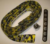 BIKE RIBBON CORK PLUS  Lenkerband, schwarz-grau-gelb