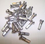 SAPIM POLYAX  Speichennippel, Alu, silber, 12 mm